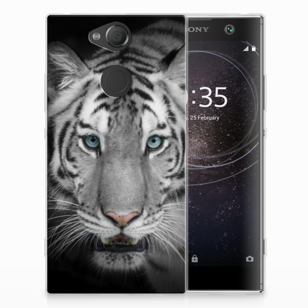 Sony Xperia XA2 Uniek TPU Hoesje Tijger