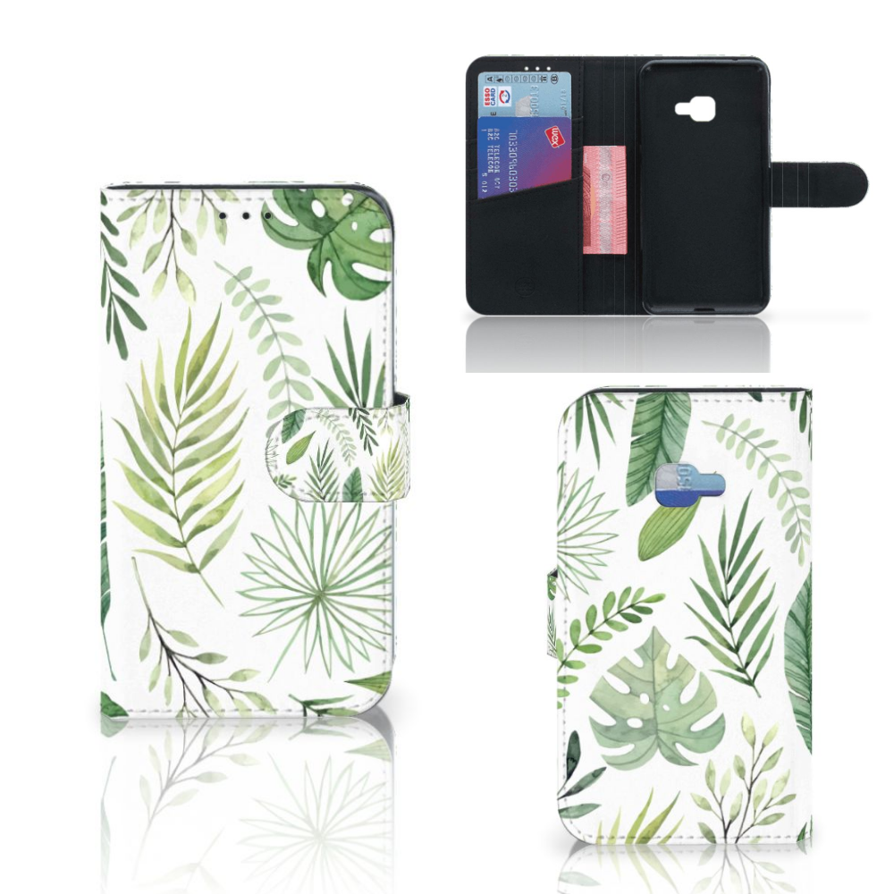 Samsung Galaxy Xcover 4 | Xcover 4s Hoesje Leaves