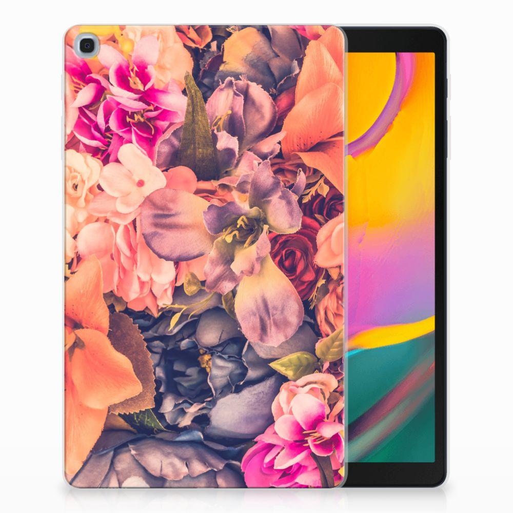 Samsung Galaxy Tab A 10.1 (2019) Tablethoesje Design Bosje Bloemen