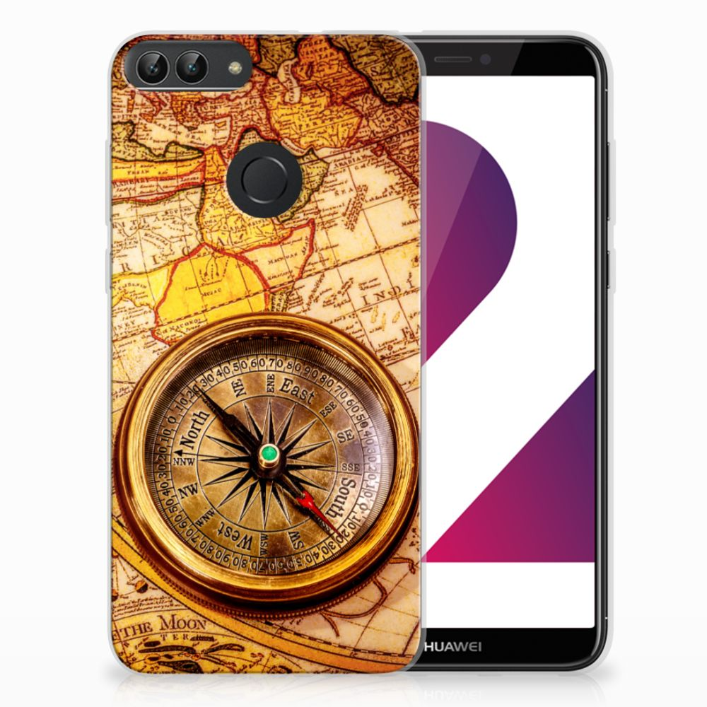 Huawei P Smart TPU Hoesje Design Kompas