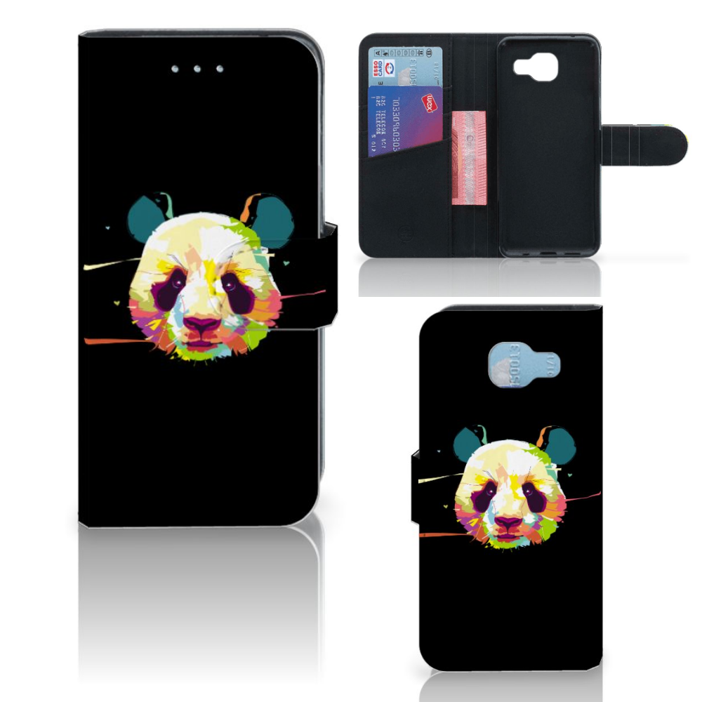 Samsung Galaxy A5 2016 Leuk Hoesje Panda Color