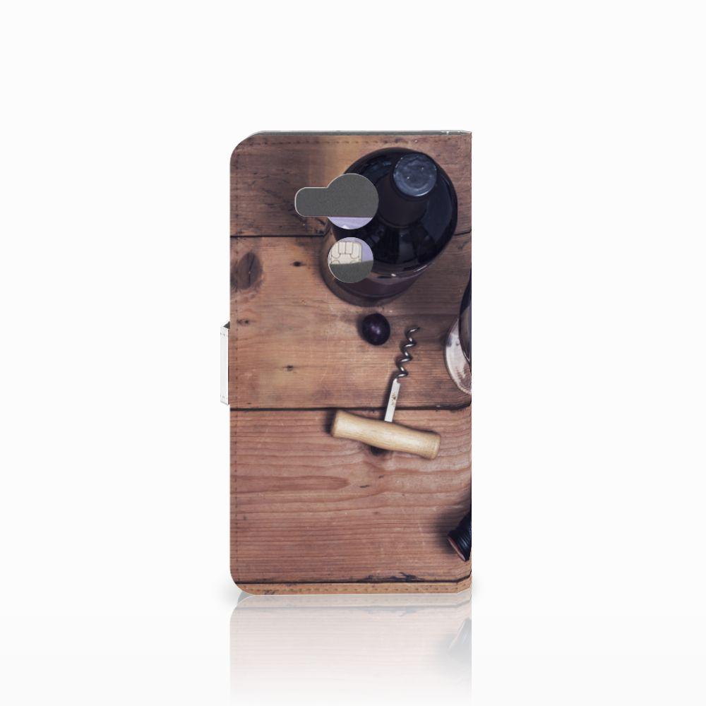 Huawei Mate 8 Book Cover Wijn