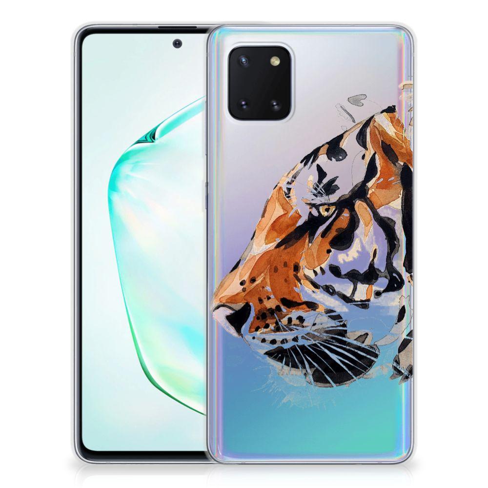 Hoesje maken Samsung Galaxy Note 10 Lite Watercolor Tiger