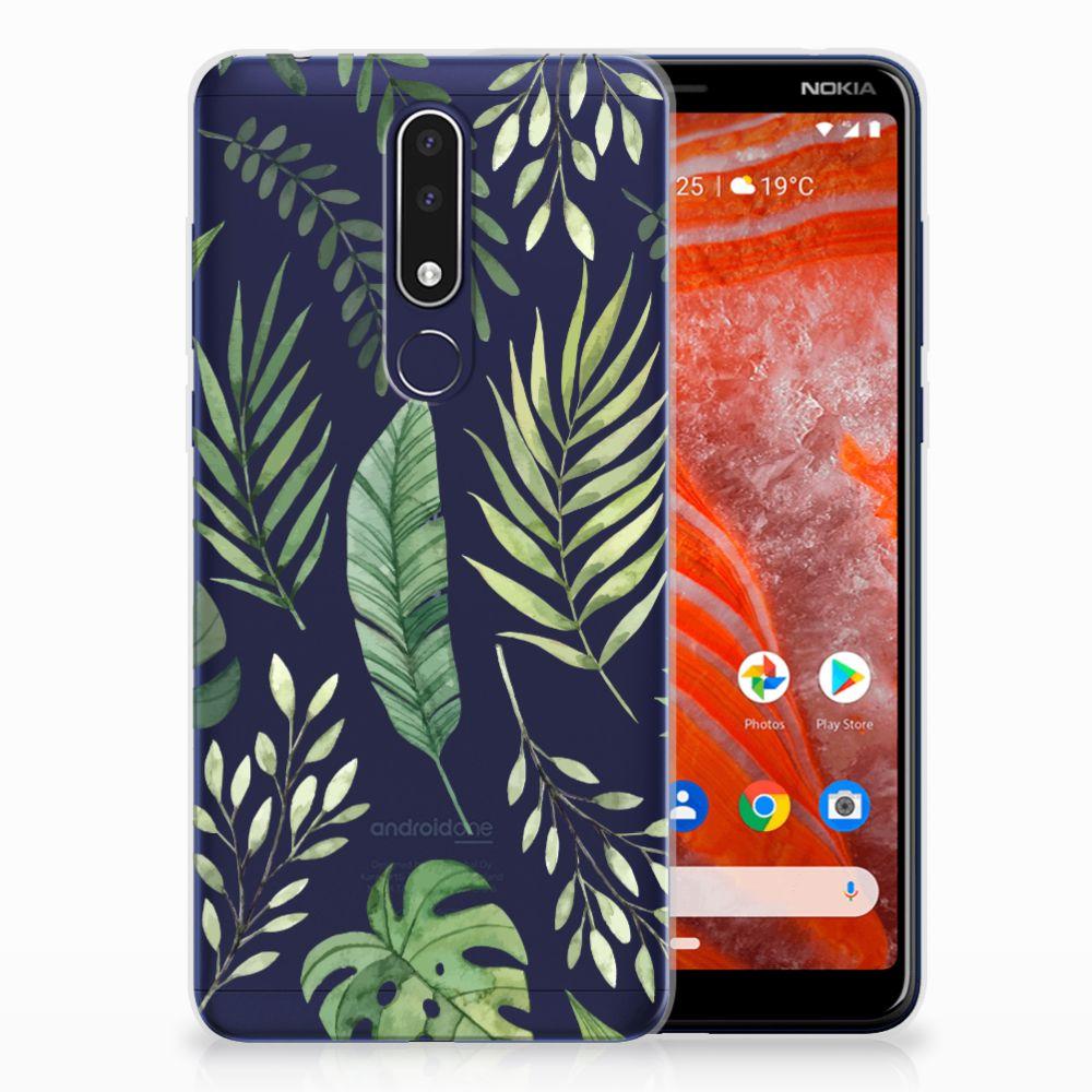 Nokia 3.1 Plus TPU Case Leaves