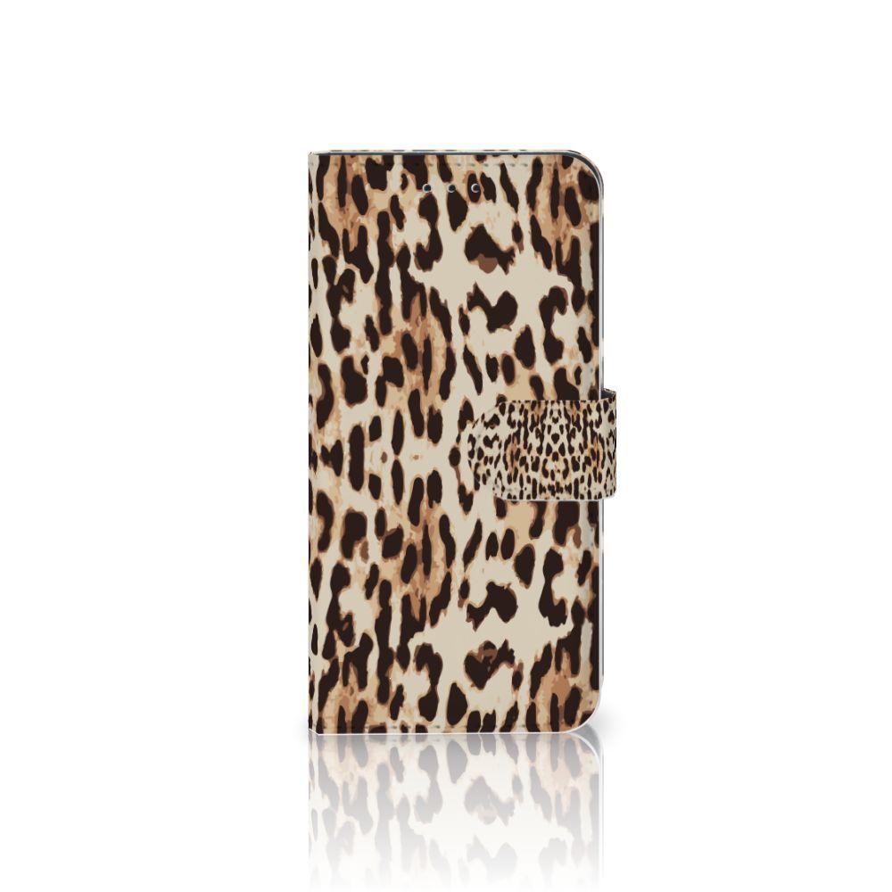 Nokia 7.1 Uniek Boekhoesje Leopard