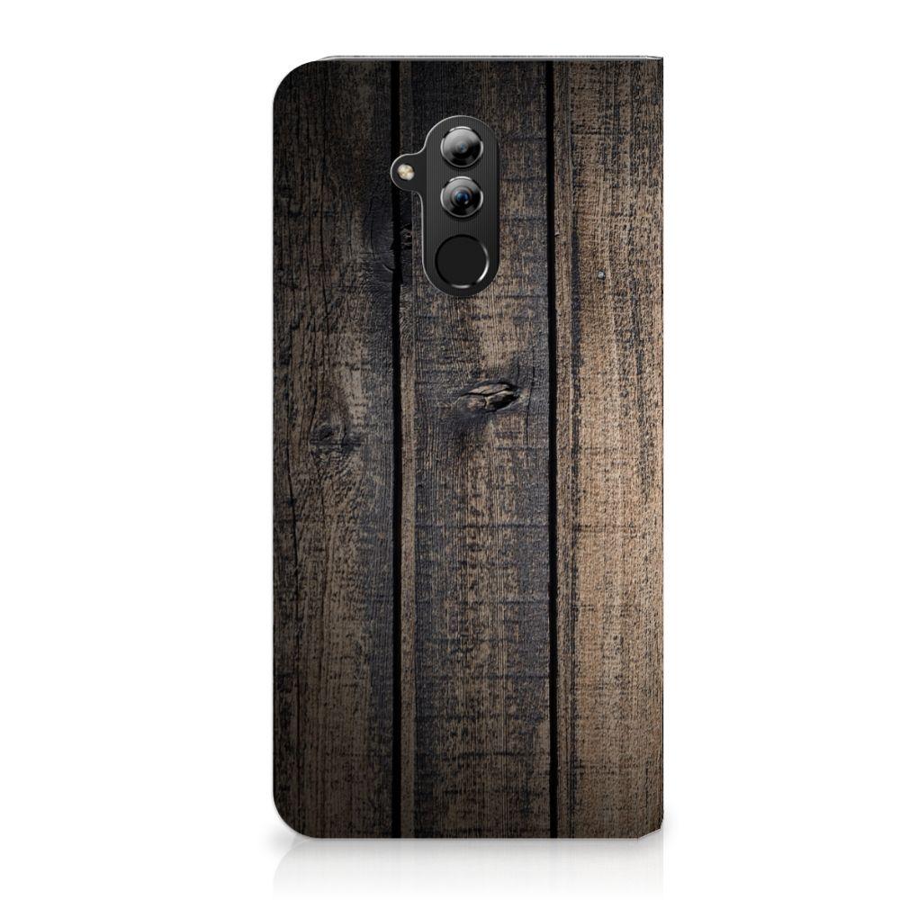 Huawei Mate 20 Lite Standcase Hoesje Design Steigerhout