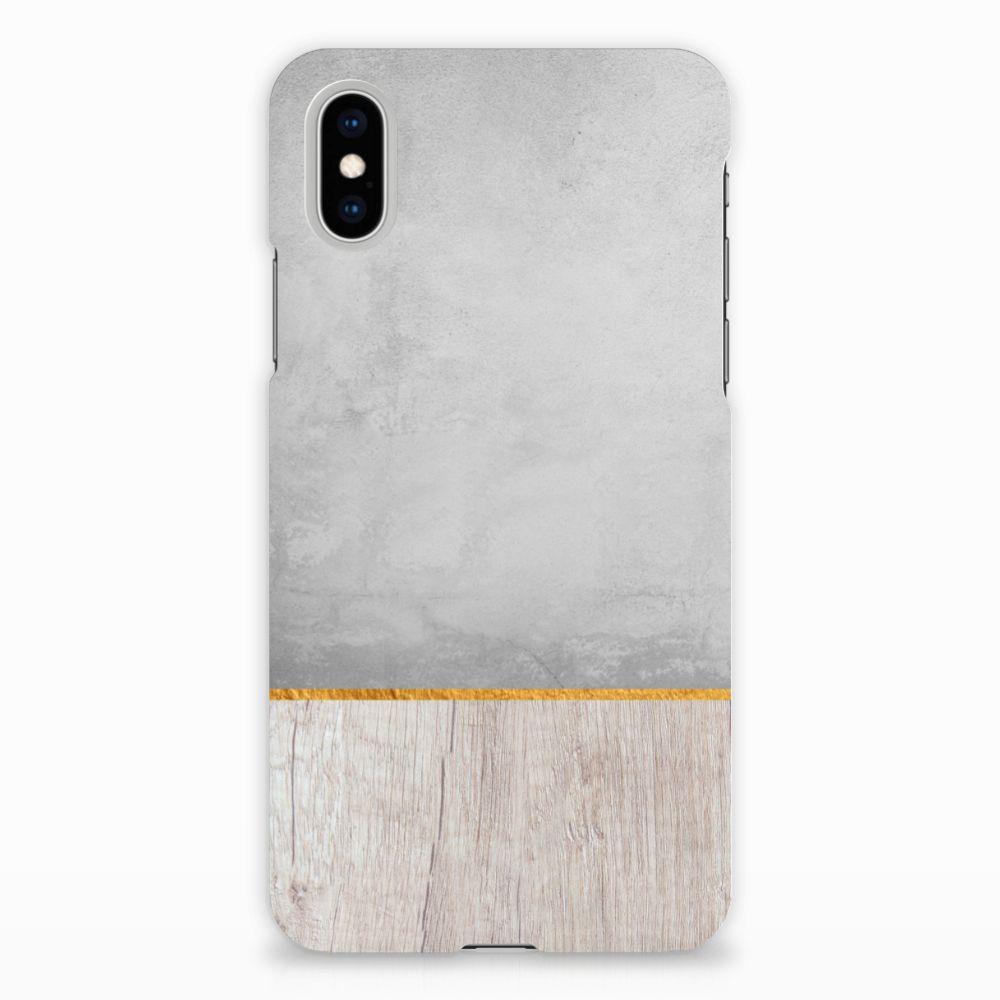 Apple iPhone X | Xs Backcase Wood Concrete