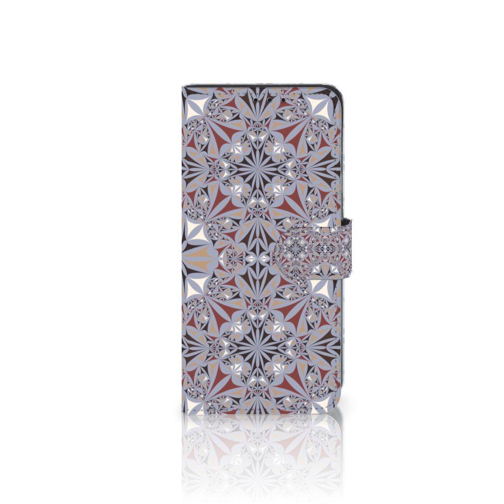 Huawei Mate 20 Lite Boekhoesje Design Flower Tiles
