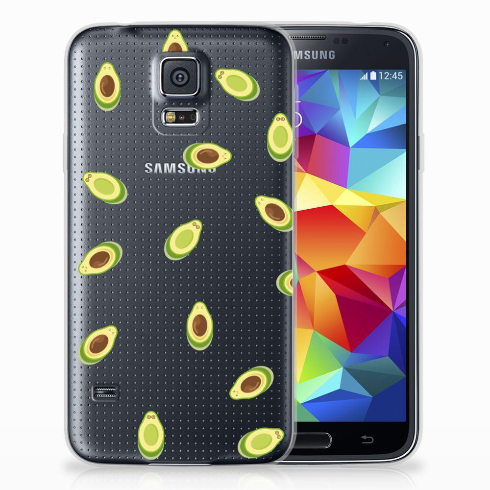 Samsung Galaxy S5 Siliconen Case Avocado