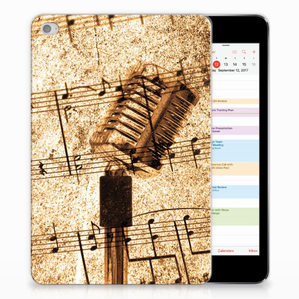 Apple iPad Mini 4 | Mini 5 (2019) Tablet Backcover met foto Bladmuziek