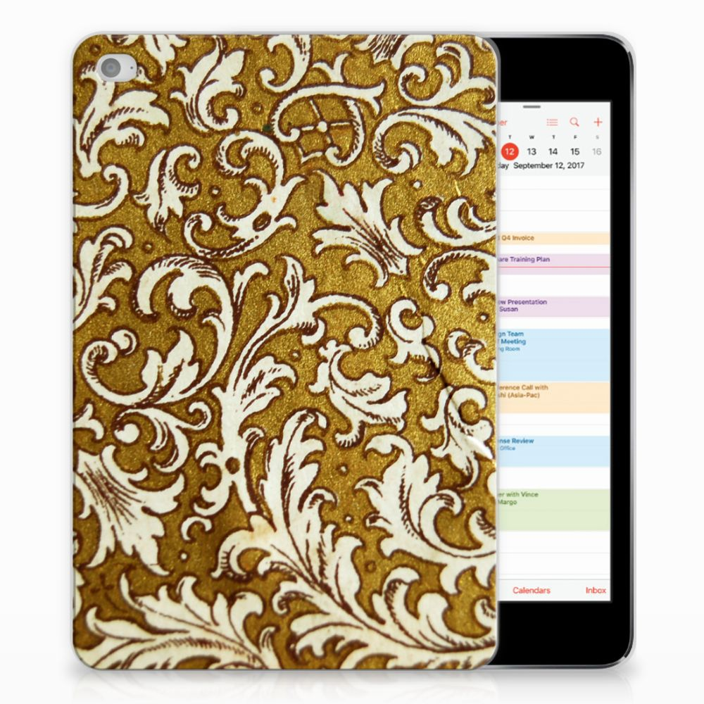 TPU Case Apple iPad Mini 4 | Mini 5 (2019) Barok Goud