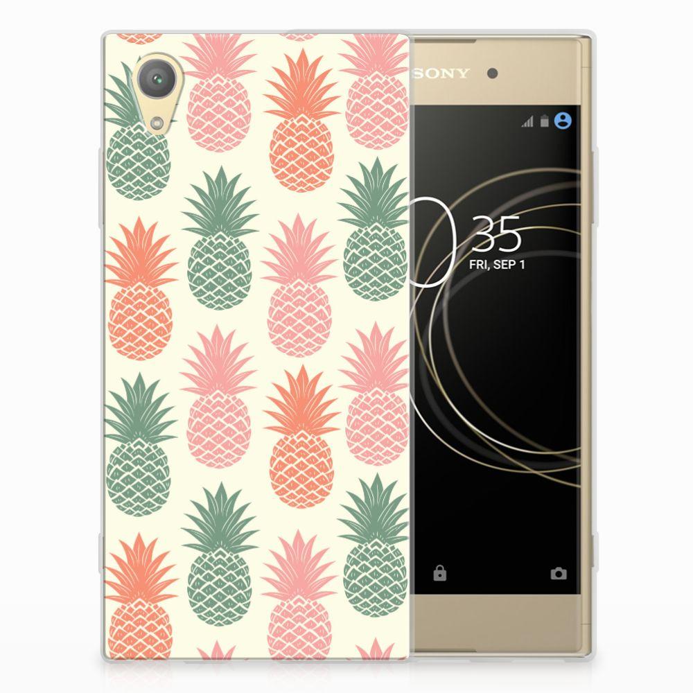 Sony Xperia XA1 Plus TPU Hoesje Design Ananas