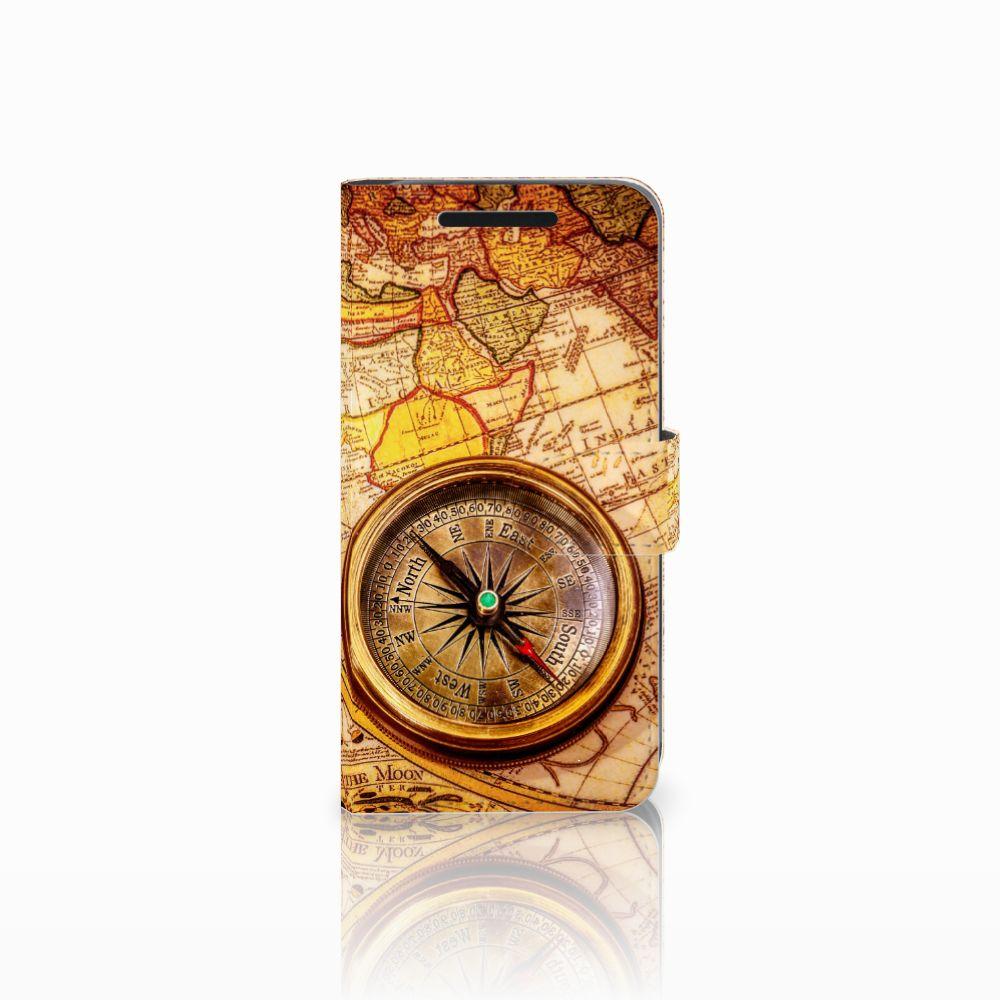 HTC One M9 Boekhoesje Design Kompas