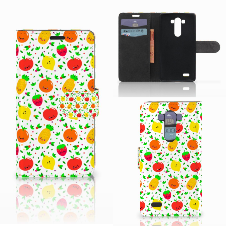 LG G3 Book Cover Fruits
