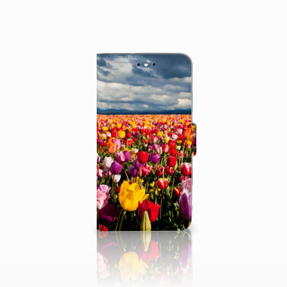 Motorola Moto G4 | G4 Plus Uniek Boekhoesje Tulpen
