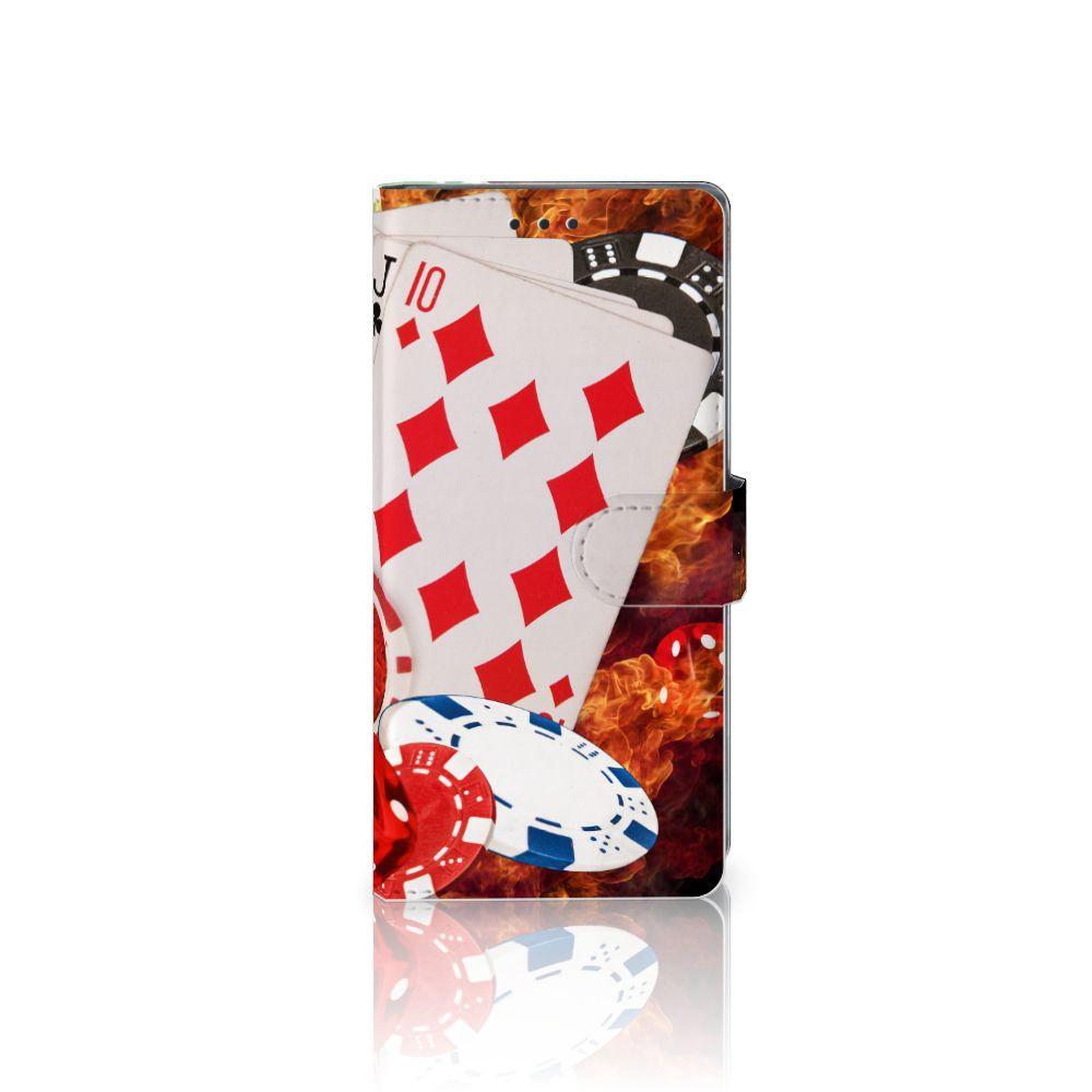 Sony Xperia XA1 Ultra Uniek Boekhoesje Casino