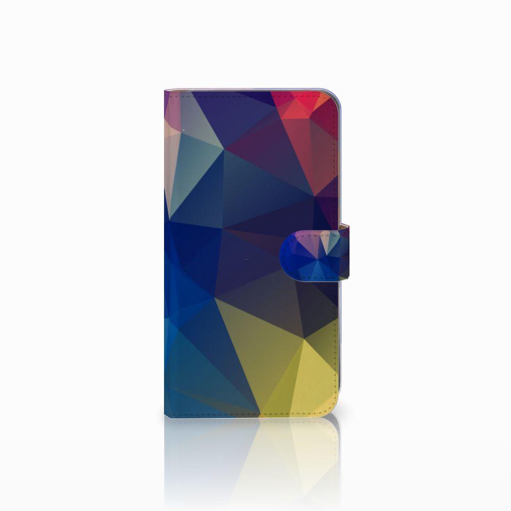 Huawei Mate 9 Bookcase Polygon Dark