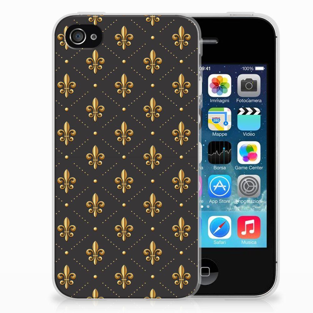 Apple iPhone 4 | 4s TPU bumper Franse Lelie