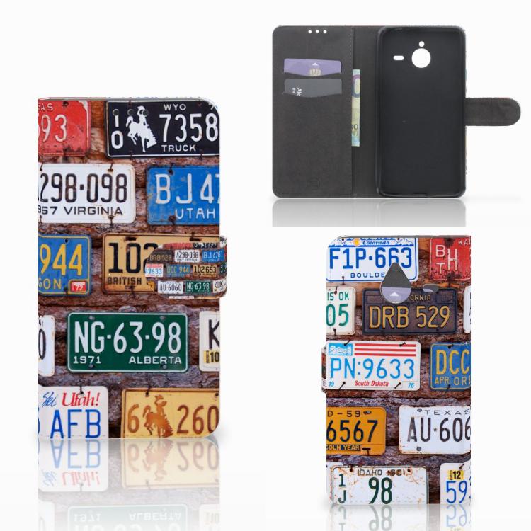 Microsoft Lumia 640 XL Telefoonhoesje met foto Kentekenplaten