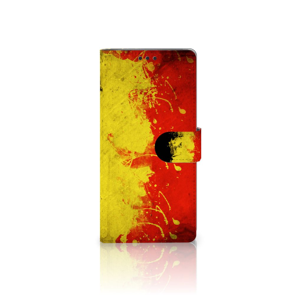 Sony Xperia XA Ultra Bookstyle Case Belgische Vlag