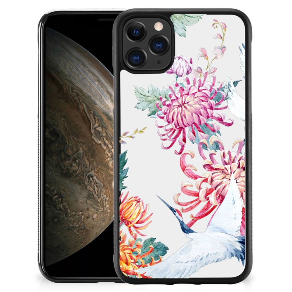 Apple iPhone 11 Pro Back Cover Bird Flowers