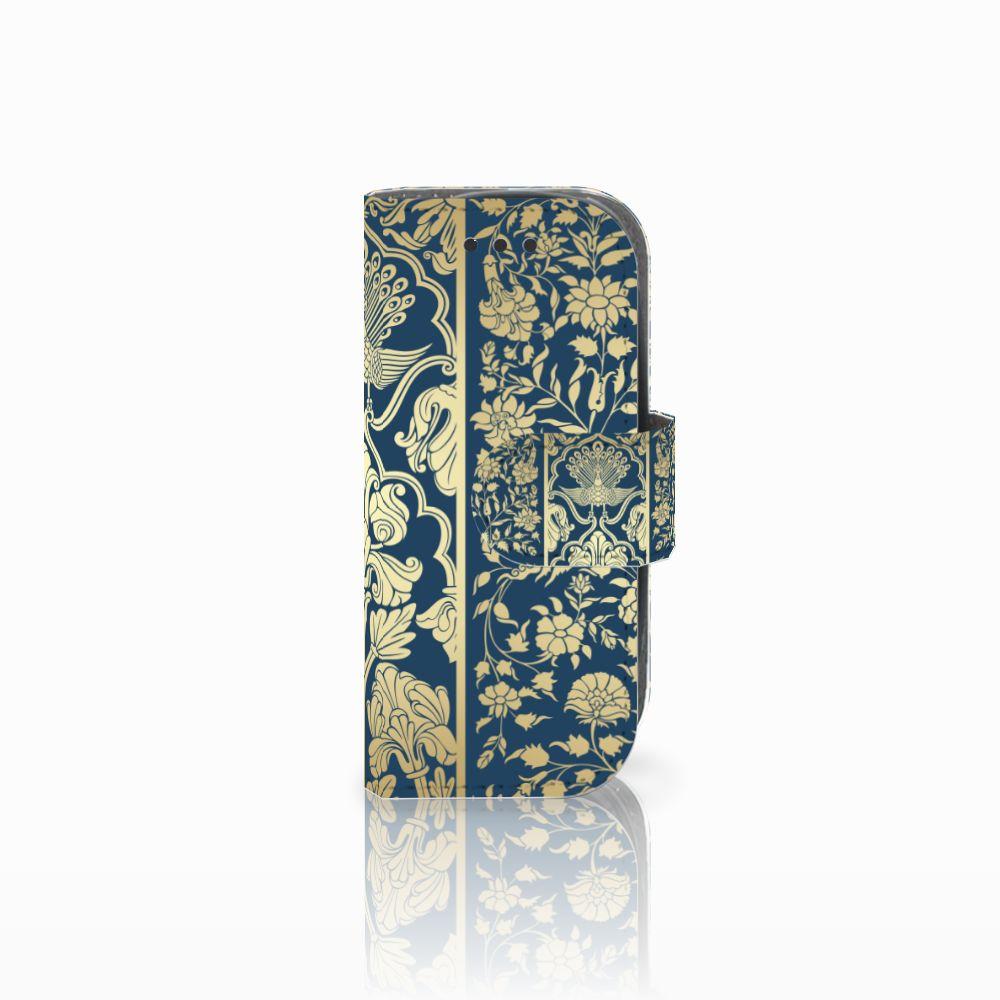 Nokia 3310 (2017) Uniek Boekhoesje Golden Flowers