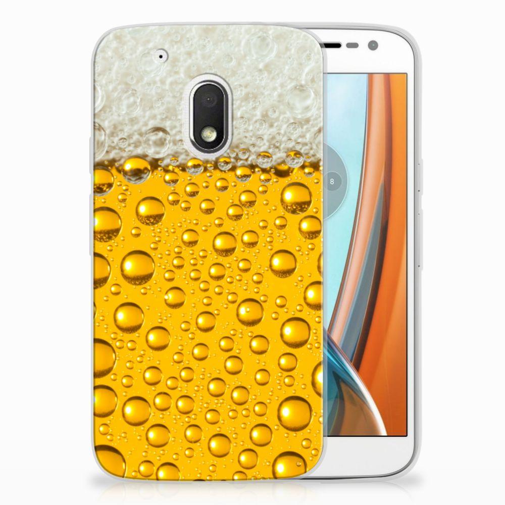 Motorola Moto G4 Play Siliconen Case Bier