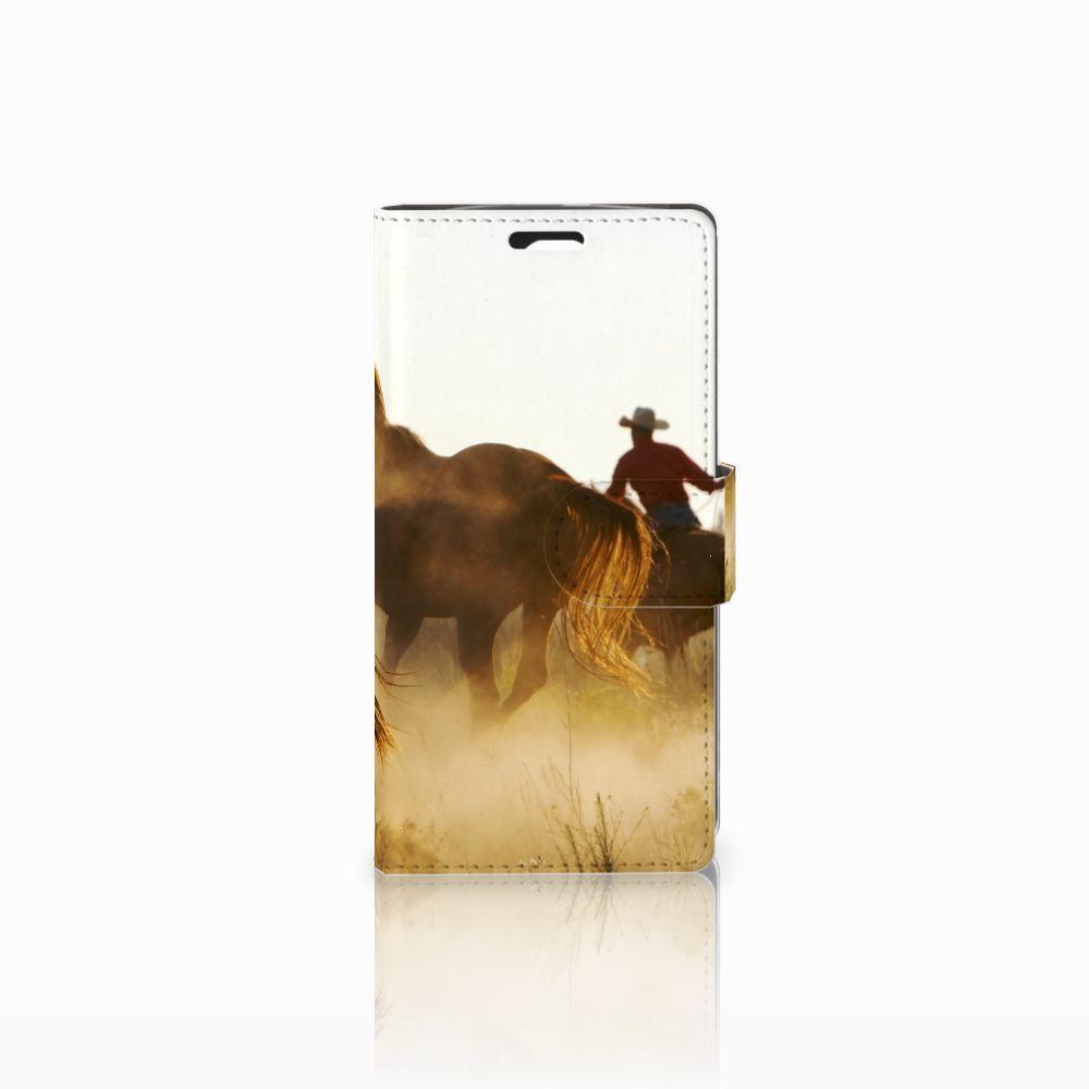 LG Spirit Telefoonhoesje met Pasjes Design Cowboy