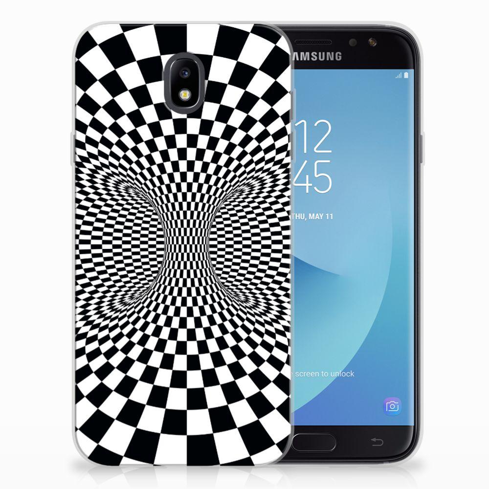 Samsung Galaxy J7 2017 | J7 Pro TPU Hoesje Illusie