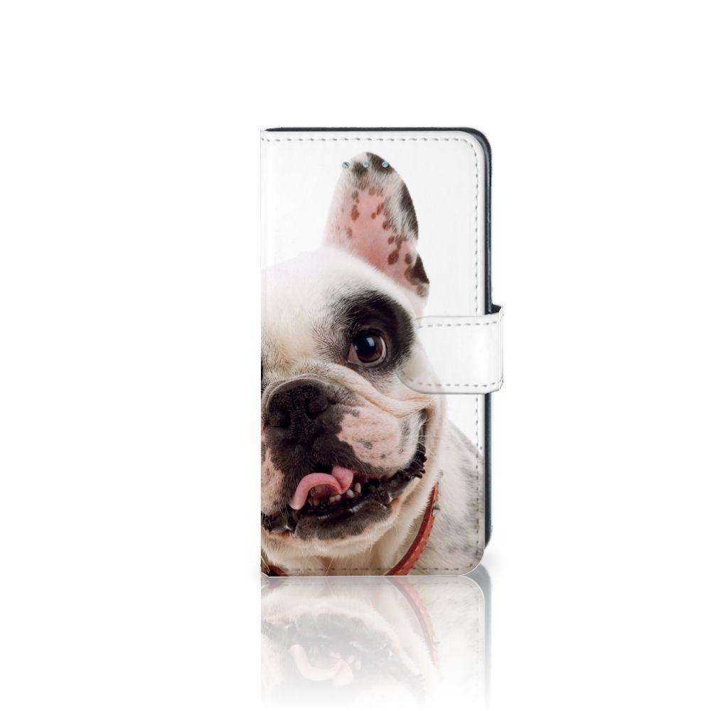 Samsung Galaxy J3 2016 Uniek Boekhoesje Franse Bulldog