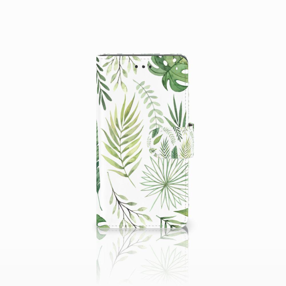 Nokia 7 Uniek Boekhoesje Leaves