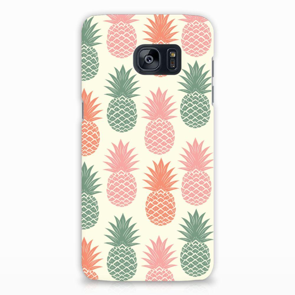 Samsung Galaxy S7 Edge Hardcase Hoesje Design Ananas