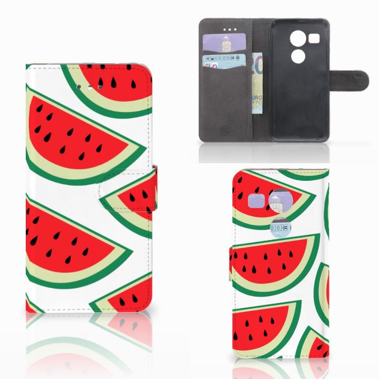 LG Nexus 5X Book Cover Watermelons
