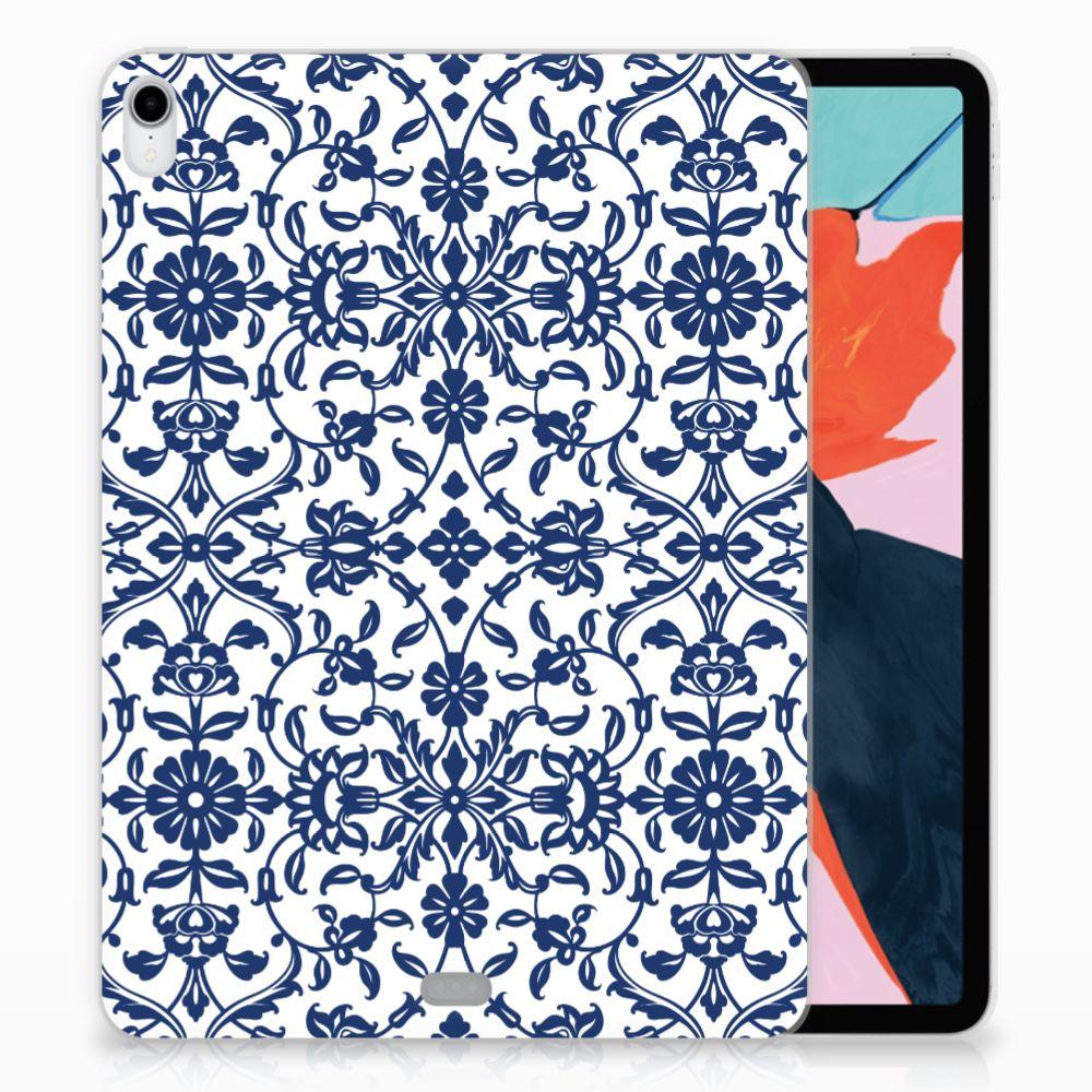 Apple iPad Pro 11 inch (2018) TPU Hoesje Flower Blue
