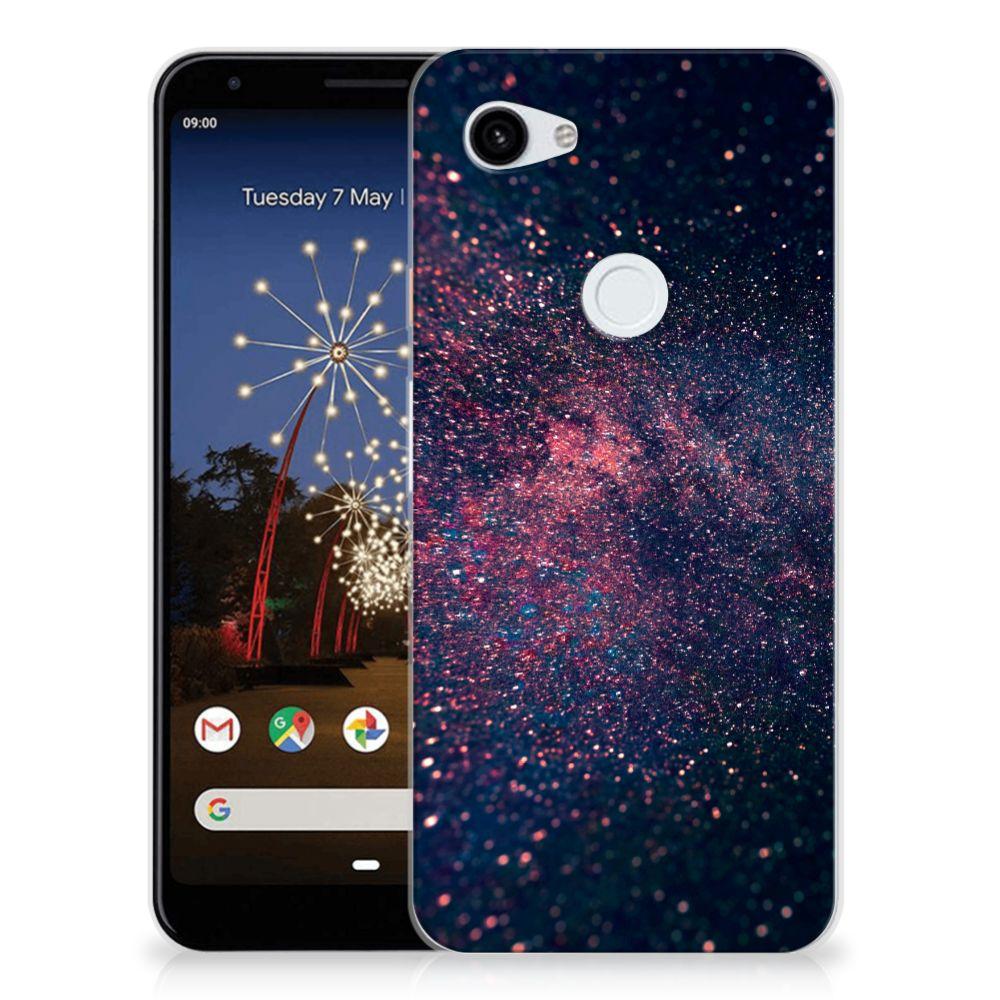 Google Pixel 3A XL TPU Hoesje Stars