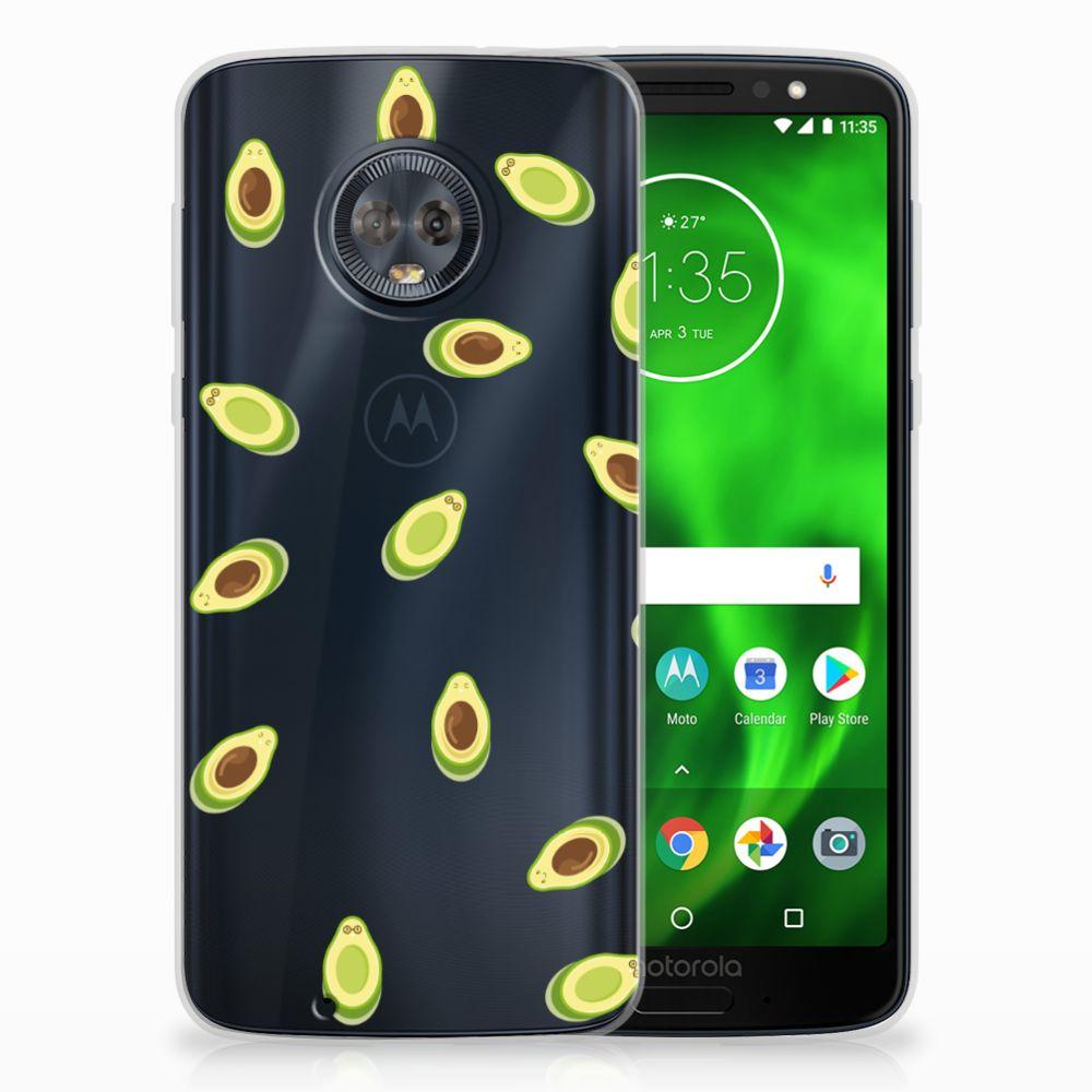 Motorola Moto G6 Siliconen Case Avocado