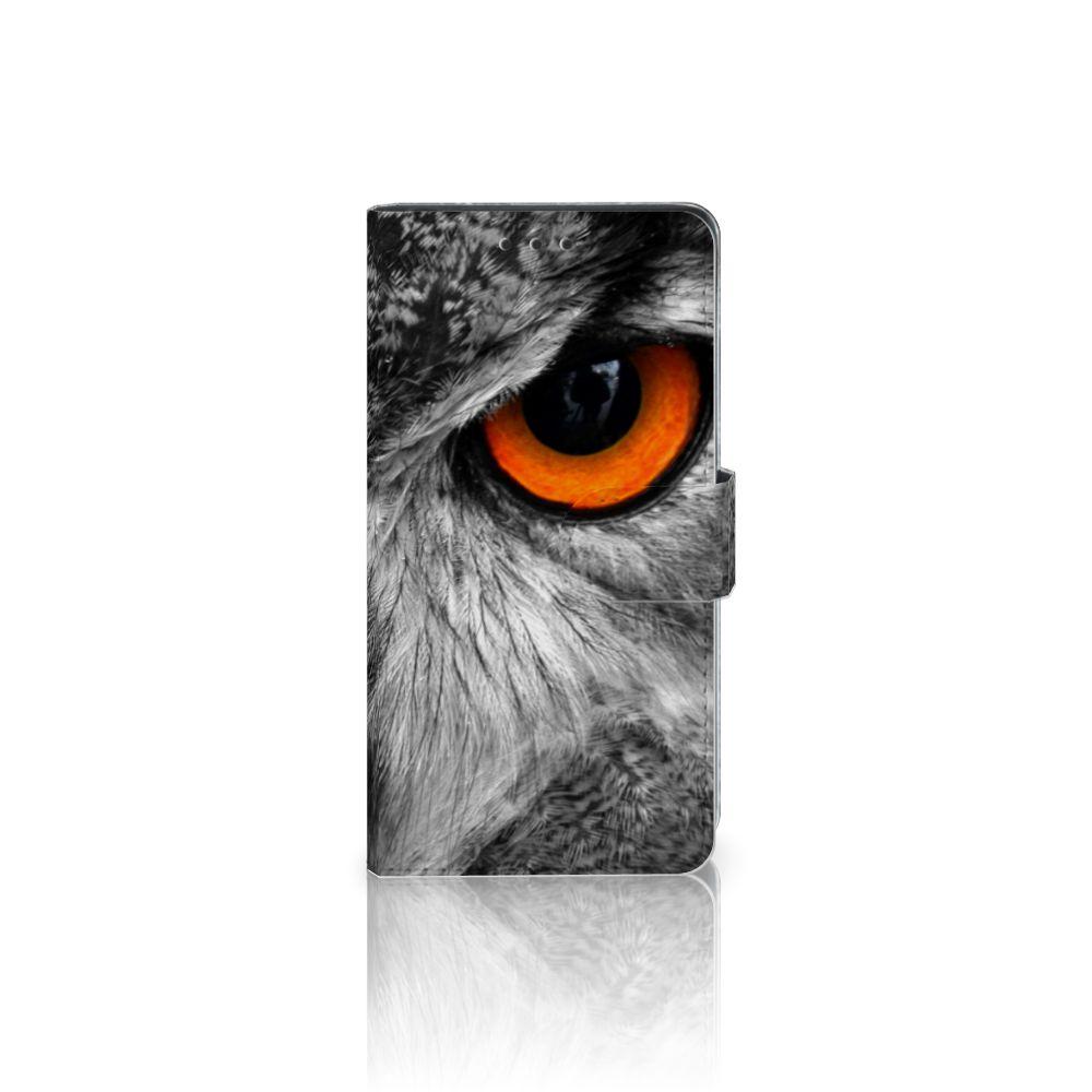 Sony Xperia Z3 Telefoonhoesje met Pasjes Uil