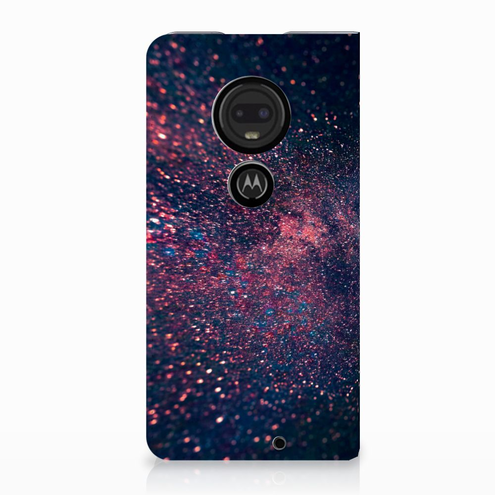 Motorola Moto G7 | G7 Plus Standcase Hoesje Design Stars