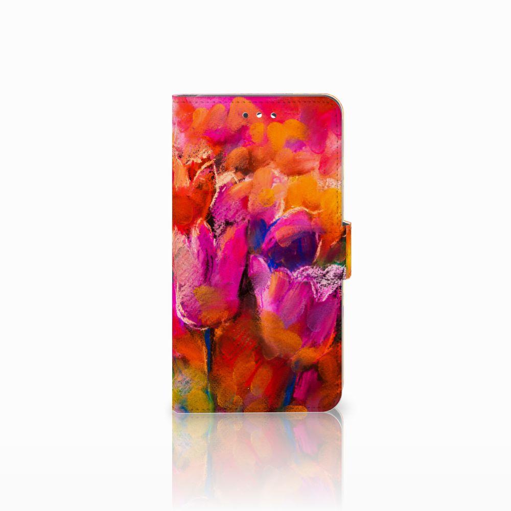 Huawei Y7 2017 | Y7 Prime 2017 Boekhoesje Design Tulips