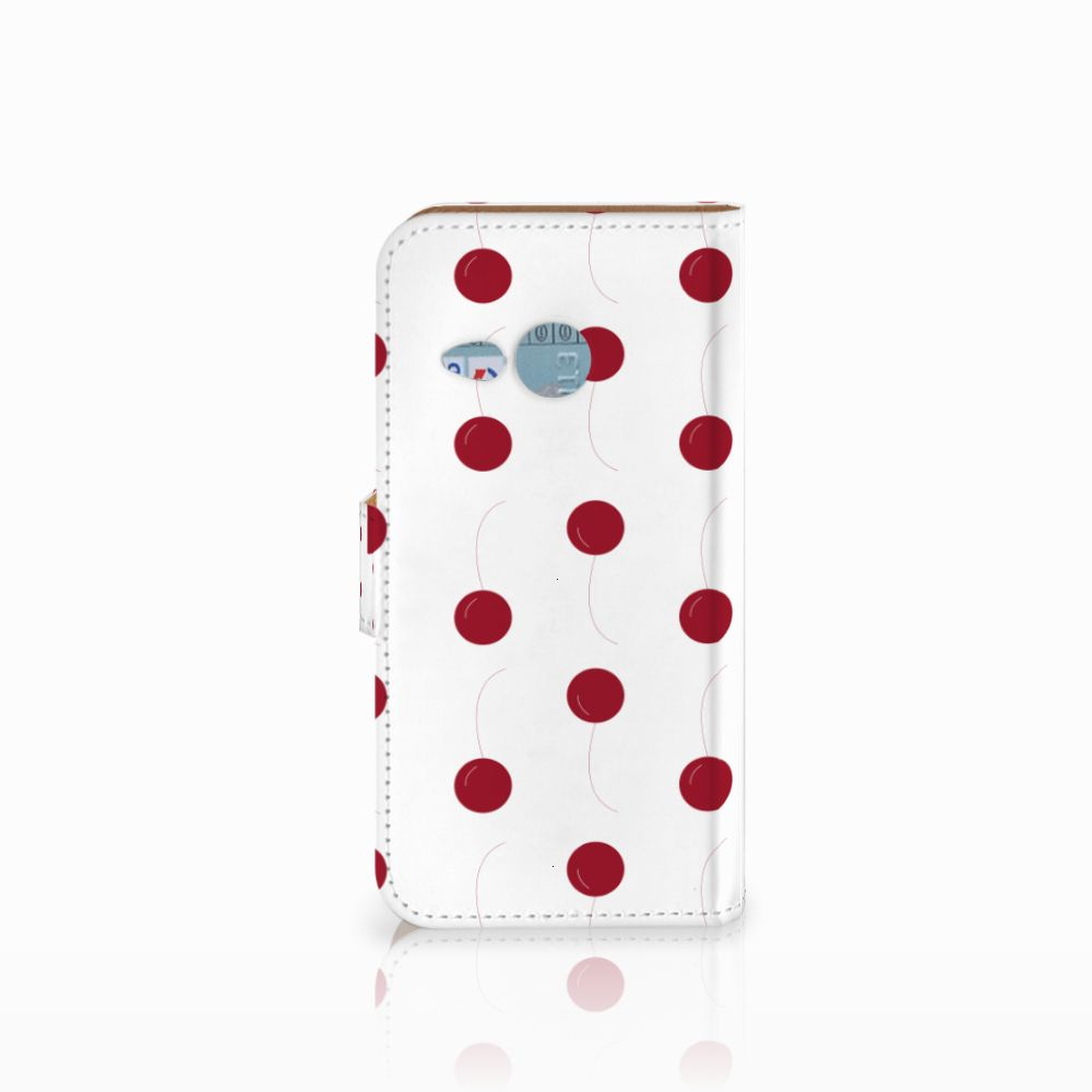 HTC One Mini 2 Book Cover Cherries