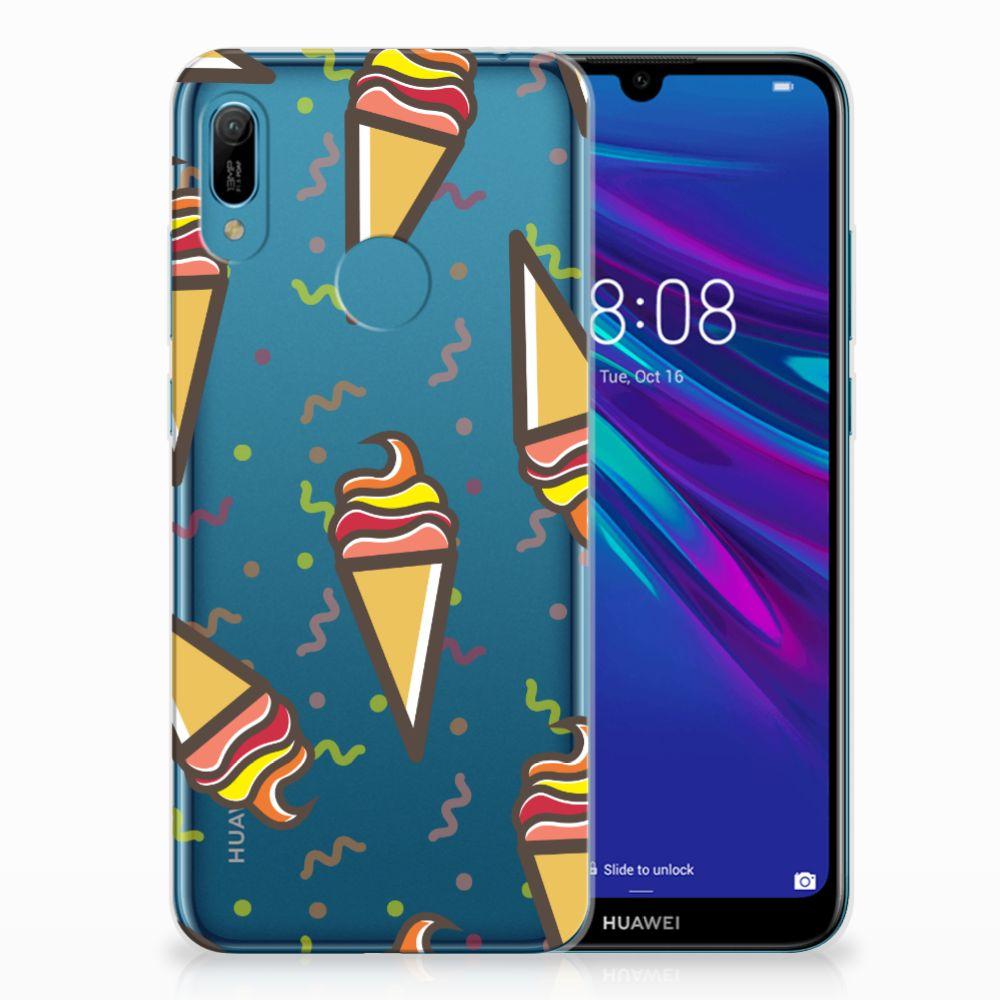 Huawei Y6 2019 | Y6 Pro 2019 Siliconen Case Icecream