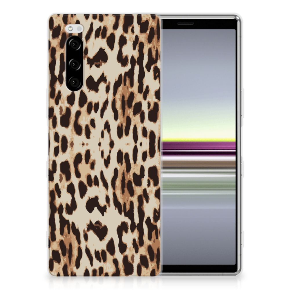 Sony Xperia 5 TPU Hoesje Leopard