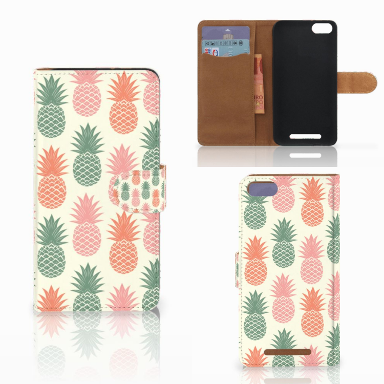 Wiko Lenny 3 Book Cover Ananas