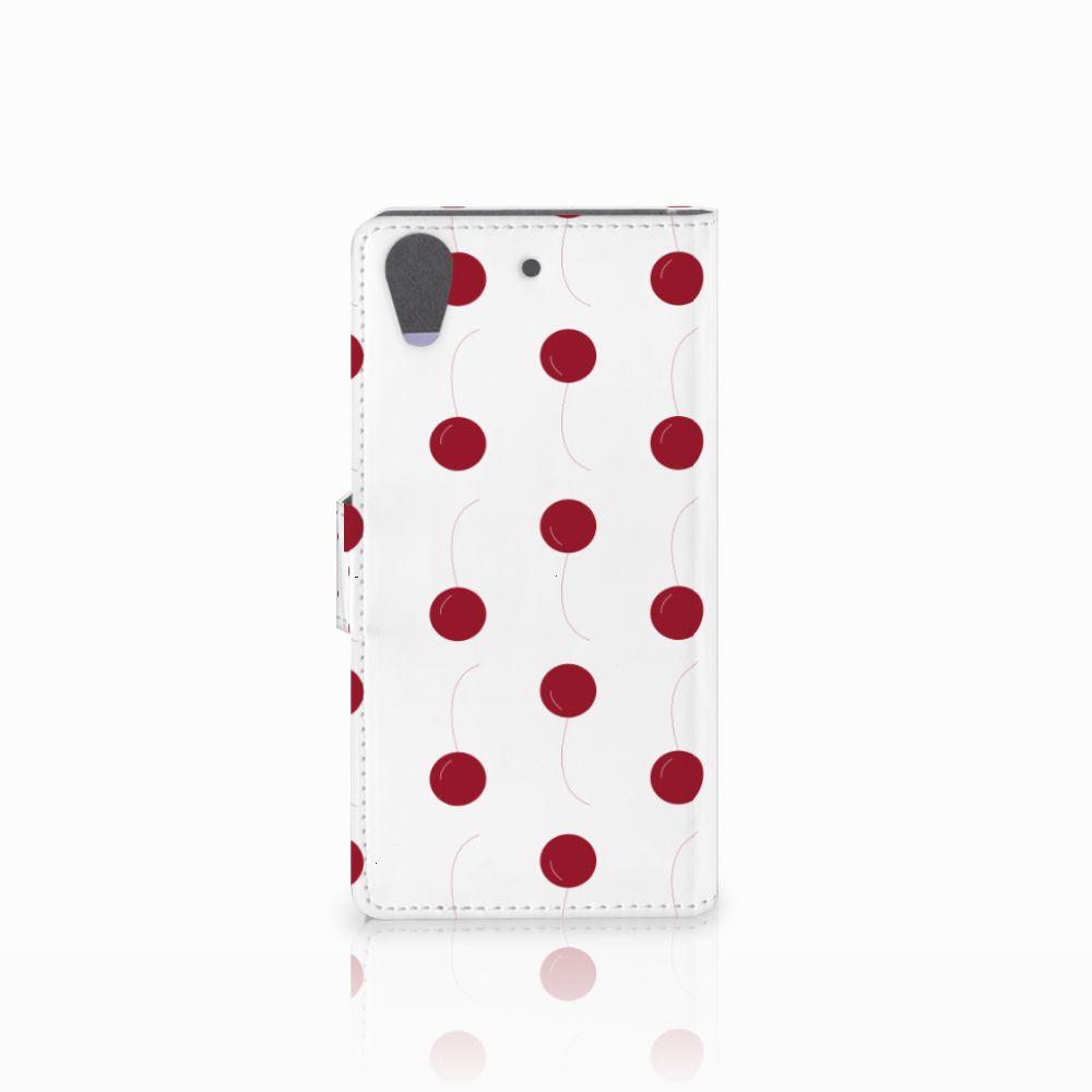 HTC Desire 626 | Desire 626s Book Cover Cherries