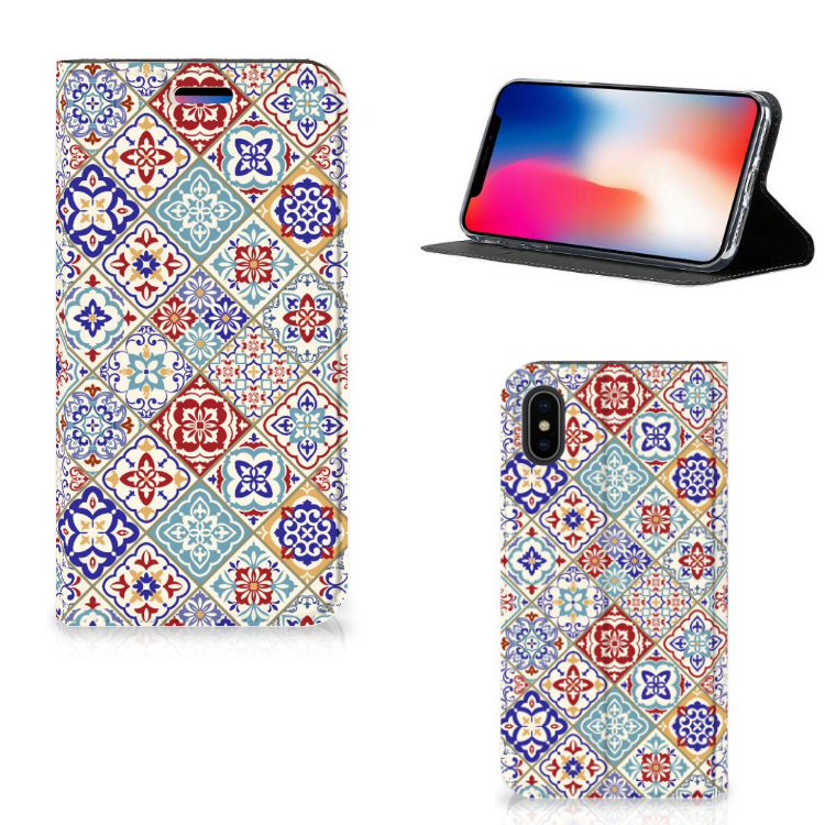 Apple iPhone X | Xs Standcase Tiles Color