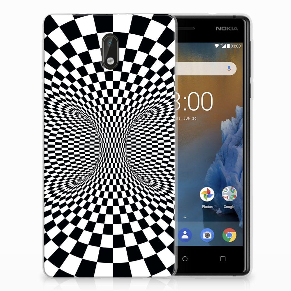 Nokia 3 TPU Hoesje Illusie