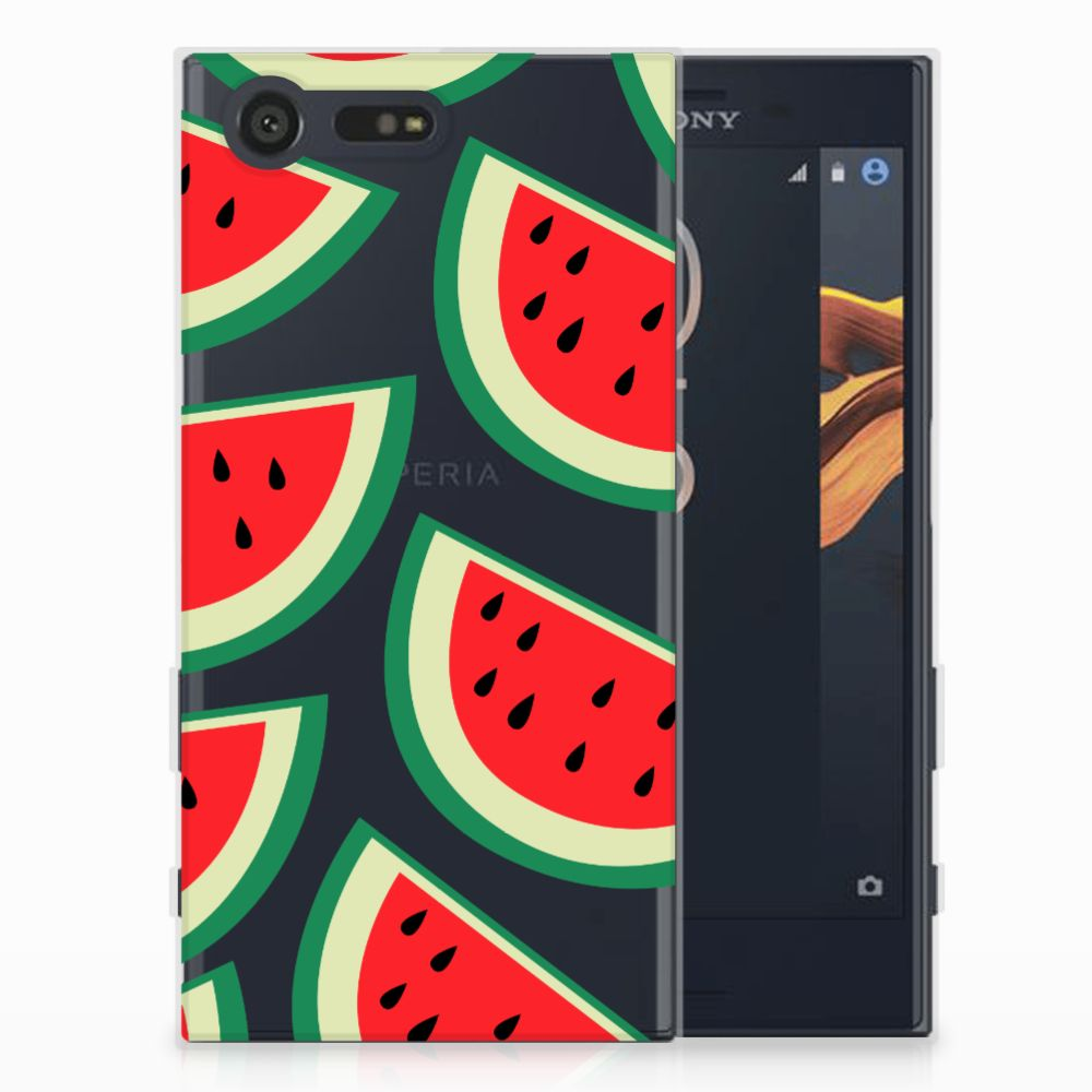 Sony Xperia X Compact Siliconen Case Watermelons