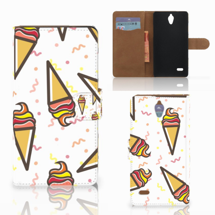 Huawei Ascend G700 Book Cover Icecream