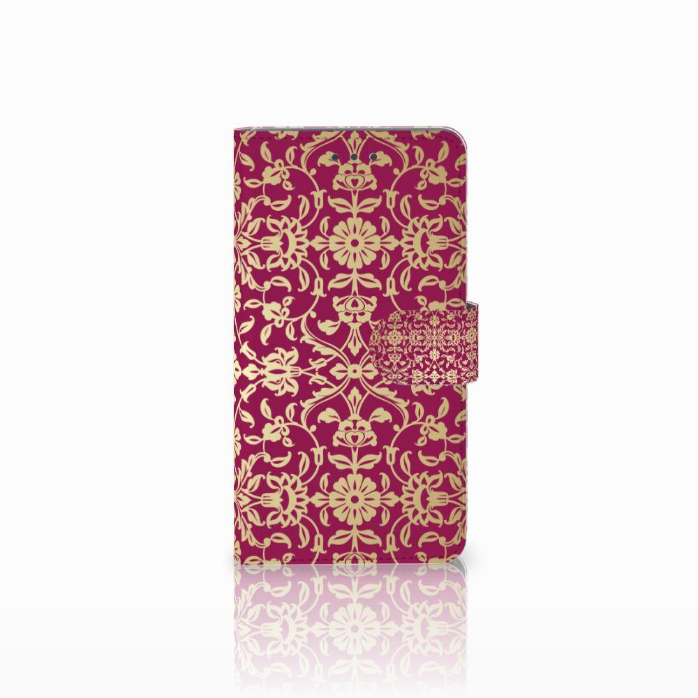 Huawei Honor 5X Boekhoesje Design Barok Pink