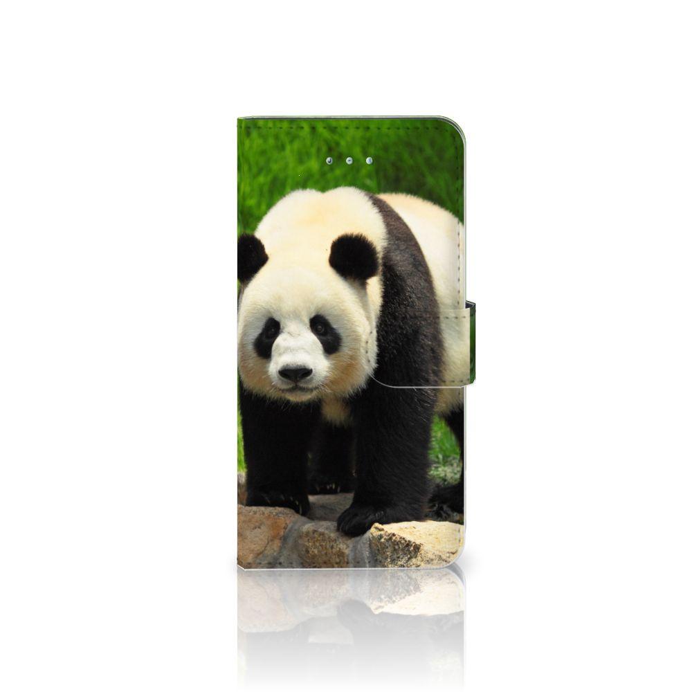 Honor 4A | Y6 Telefoonhoesje met Pasjes Panda